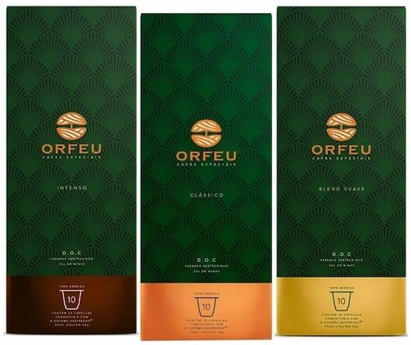 Café Orfeu cápsulas de café compatíveis Nespresso