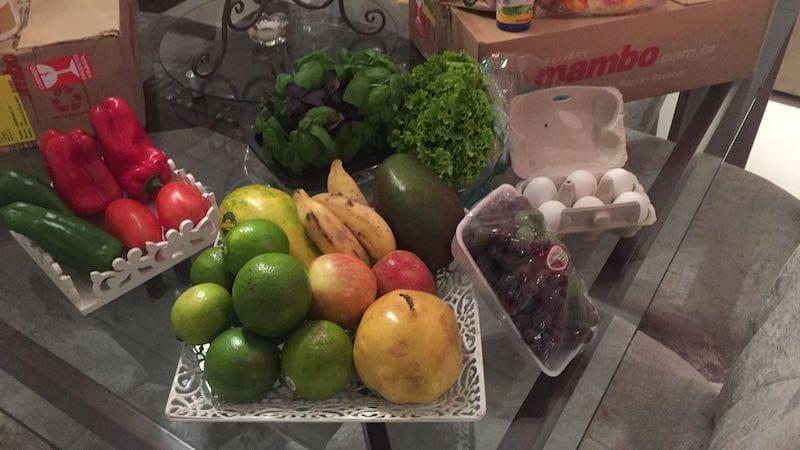 Qualidade dos Hortifruti entregues pelo Mambo Delivery