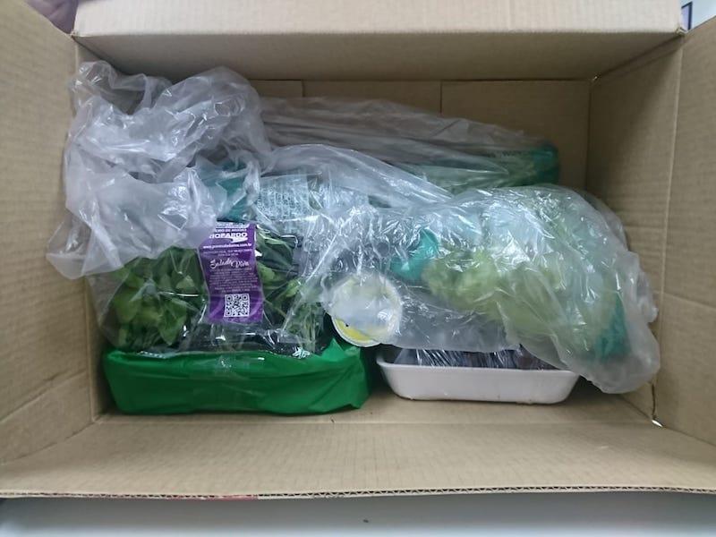 Embalagem Hortifruti Mambo Delivery